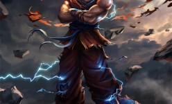 Fantasy Art Bryan Sola Goku
