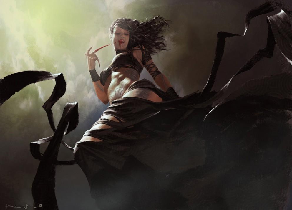 vampire lady - fantasy, illustrationscoolvibe – digital art